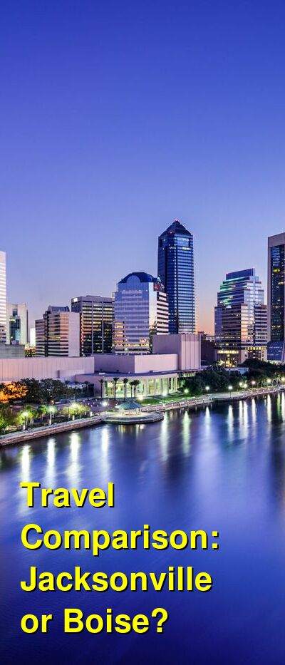Jacksonville vs. Boise Travel Comparison