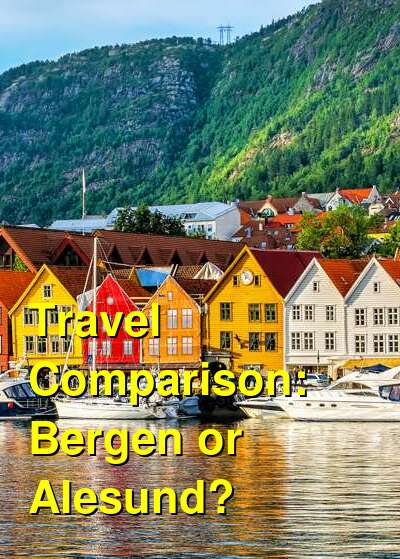 Bergen vs. Alesund Travel Comparison
