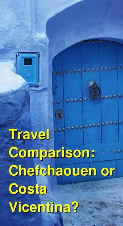 Chefchaouen vs. Costa Vicentina Travel Comparison
