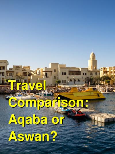 Aqaba vs. Aswan Travel Comparison