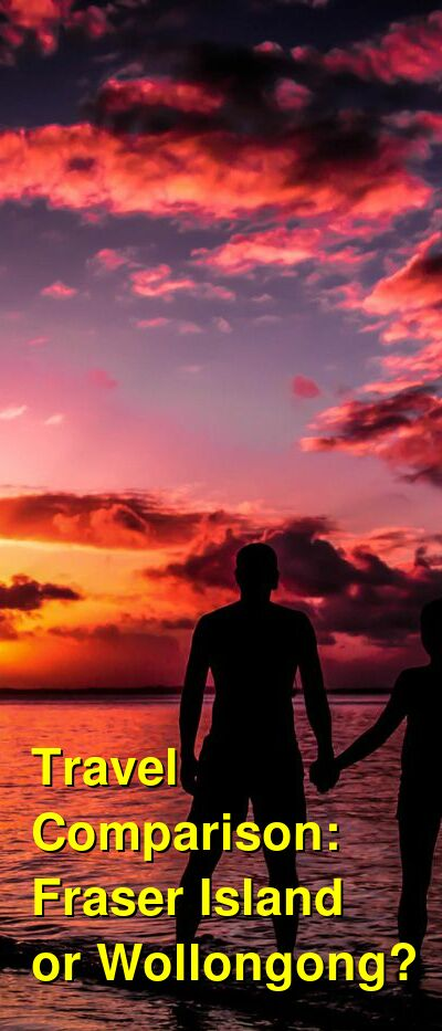 Fraser Island vs. Wollongong Travel Comparison