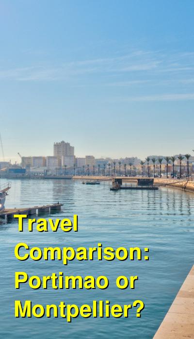 Portimao vs. Montpellier Travel Comparison