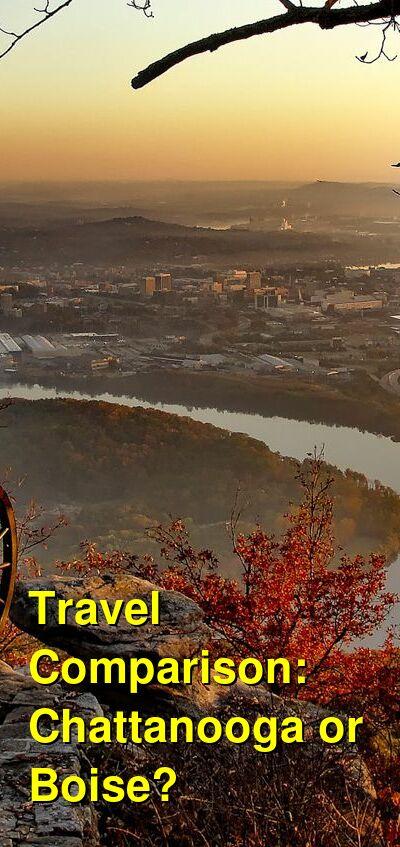Chattanooga vs. Boise Travel Comparison