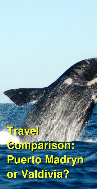 Puerto Madryn vs. Valdivia Travel Comparison