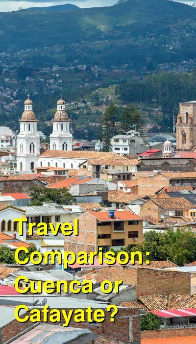 Cuenca vs. Cafayate Travel Comparison