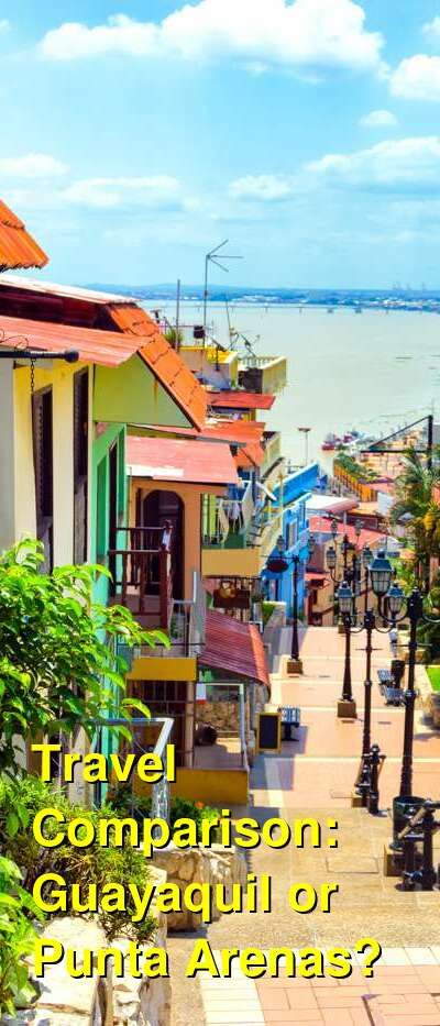 Guayaquil vs. Punta Arenas Travel Comparison