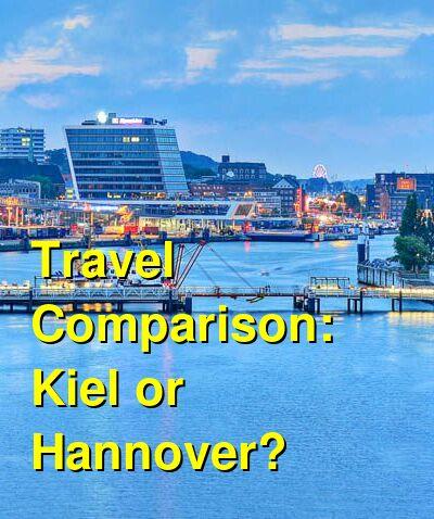Kiel vs. Hannover Travel Comparison