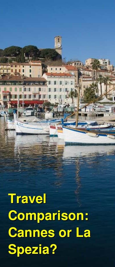 Cannes vs. La Spezia Travel Comparison