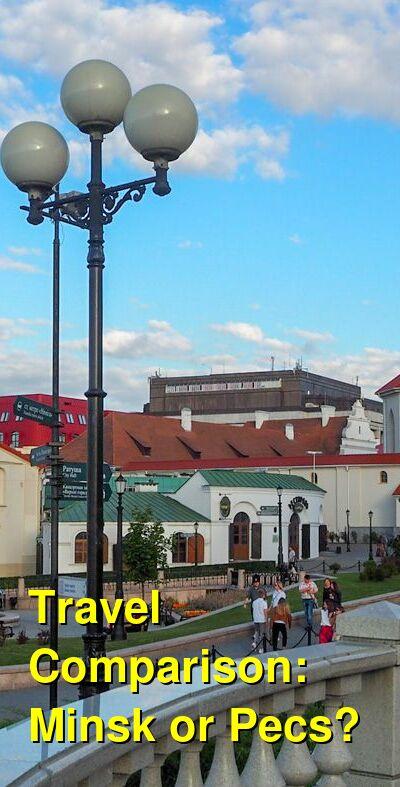 Minsk vs. Pecs Travel Comparison