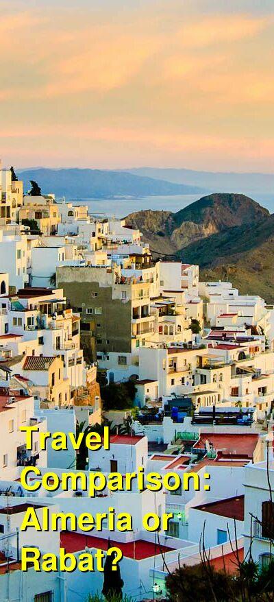 Almeria vs. Rabat Travel Comparison