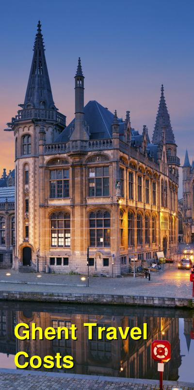Ghent Travel Cost - Average Price of a Vacation to Ghent: Food & Meal Budget, Daily & Weekly Expenses | BudgetYourTrip.com