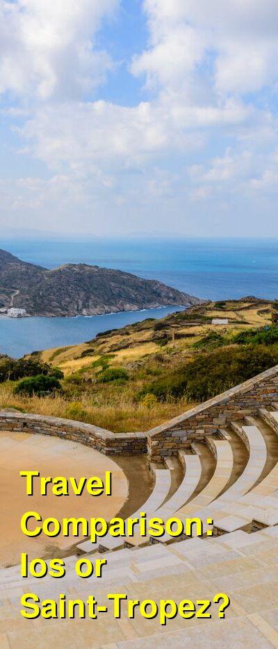 Ios vs. Saint-Tropez Travel Comparison