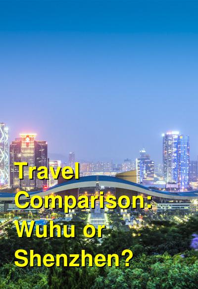 Wuhu vs. Shenzhen Travel Comparison