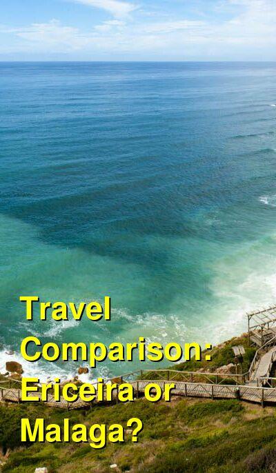 Ericeira vs. Malaga Travel Comparison