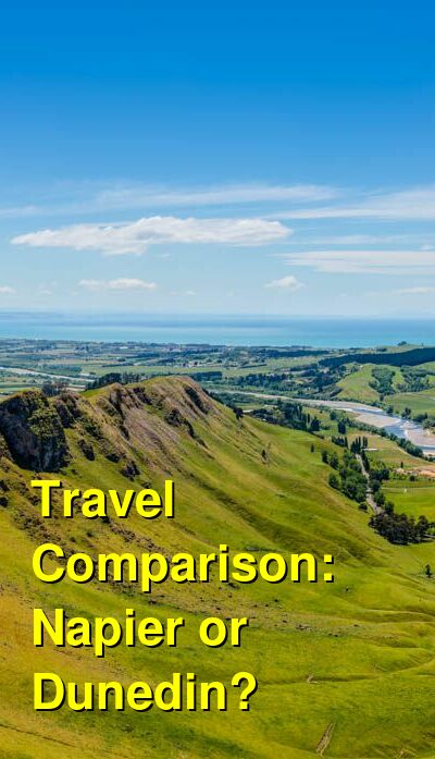 Napier vs. Dunedin Travel Comparison