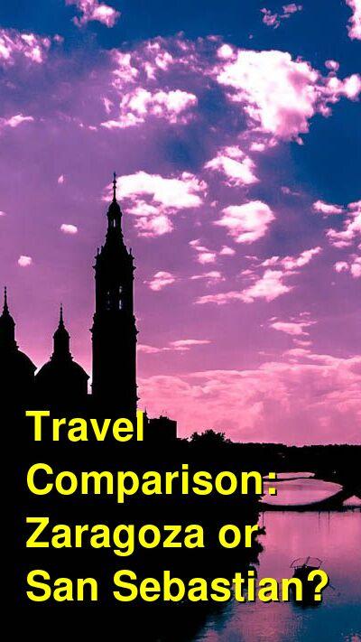 Zaragoza vs. San Sebastian Travel Comparison