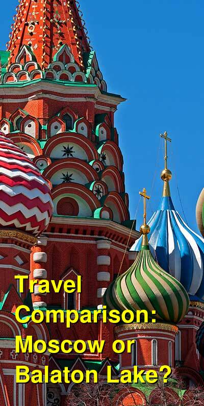 Moscow vs. Balaton Lake Travel Comparison