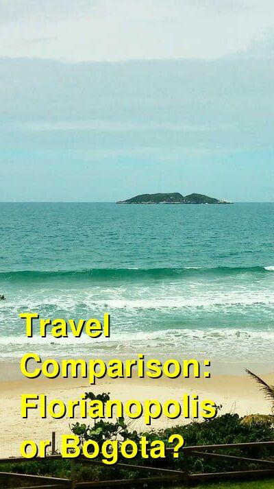 Florianopolis vs. Bogota Travel Comparison