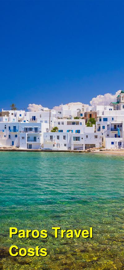 Paros Travel Cost - Average Price of a Vacation to Paros: Food & Meal Budget, Daily & Weekly Expenses | BudgetYourTrip.com