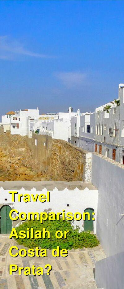 Asilah vs. Costa de Prata Travel Comparison