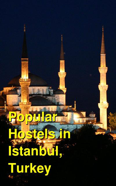 Popular Hostels in Istanbul, Turkey | Budget Your Trip