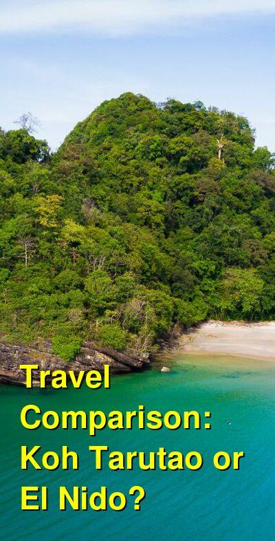 Koh Tarutao vs. El Nido Travel Comparison