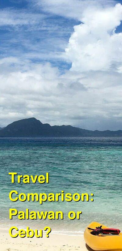 Palawan vs. Cebu Travel Comparison