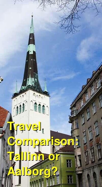 Tallinn vs. Aalborg Travel Comparison