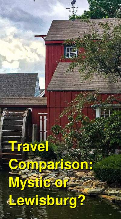 Mystic vs. Lewisburg Travel Comparison
