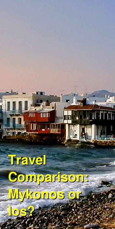 Mykonos vs. Ios Travel Comparison
