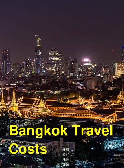 Bangkok Travel Cost - Average Price of a Vacation to Bangkok: Food & Meal Budget, Daily & Weekly Expenses | BudgetYourTrip.com