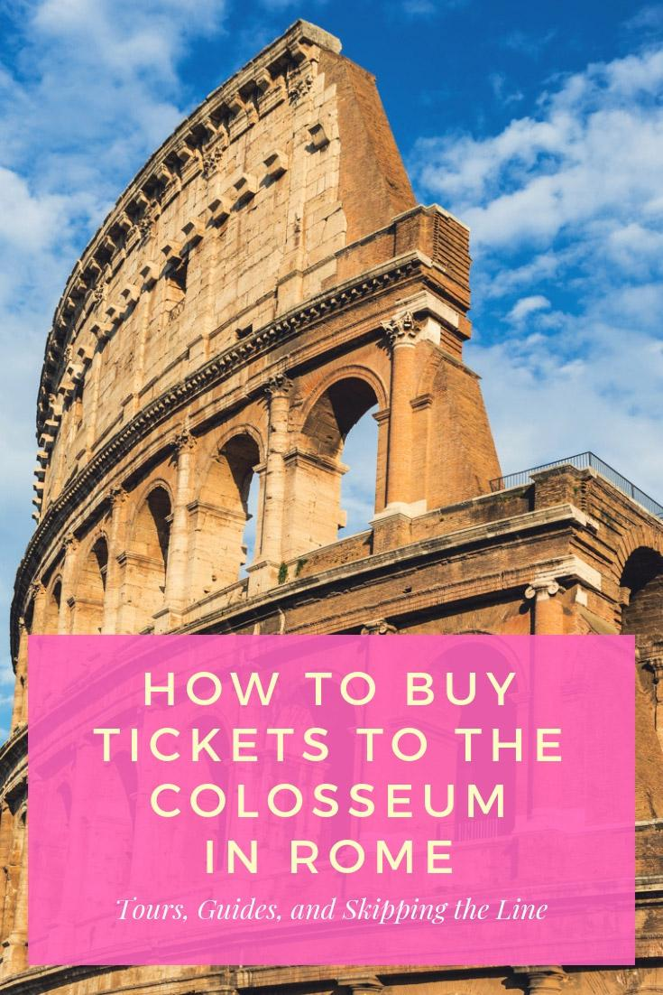How to Buy Tickets to the Colosseum in Rome, Italy | Budget Your Trip