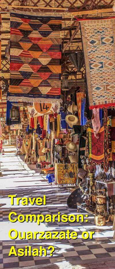Ouarzazate vs. Asilah Travel Comparison