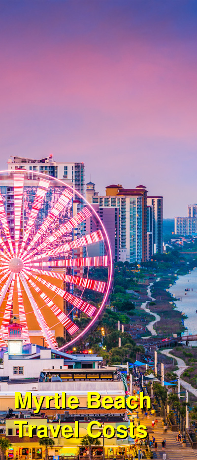 Myrtle Beach Travel Cost - Average Price of a Vacation to Myrtle Beach: Food & Meal Budget, Daily & Weekly Expenses | BudgetYourTrip.com