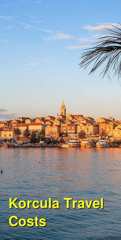 Korcula Travel Costs & Prices | BudgetYourTrip.com
