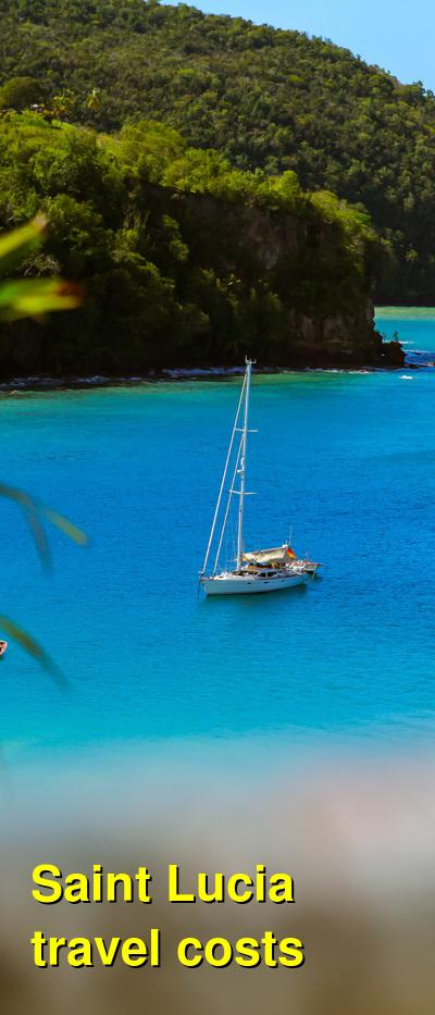 Saint Lucia Travel Cost - Average Price of a Vacation to Saint Lucia: Food & Meal Budget, Daily & Weekly Expenses | BudgetYourTrip.com