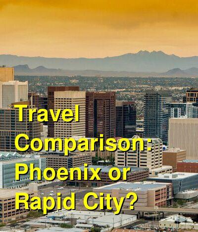 Phoenix vs. Rapid City Travel Comparison