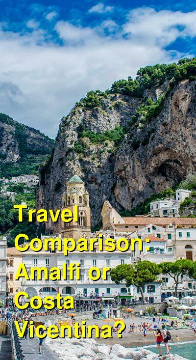 Amalfi vs. Costa Vicentina Travel Comparison
