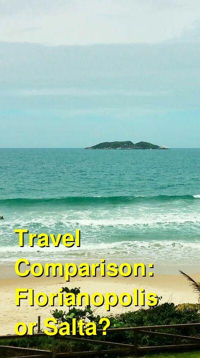 Florianopolis vs. Salta Travel Comparison