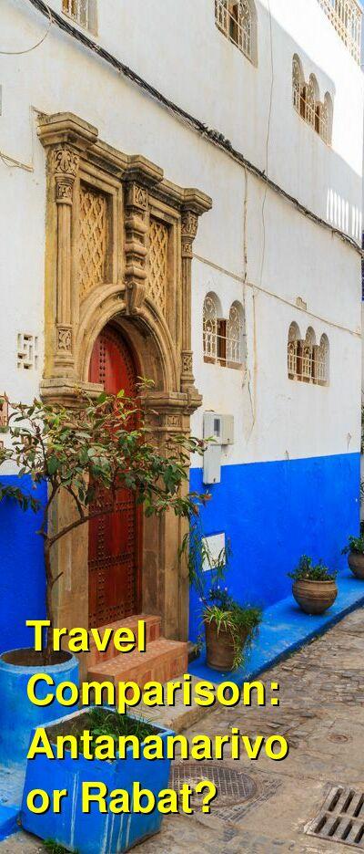 Antananarivo vs. Rabat Travel Comparison