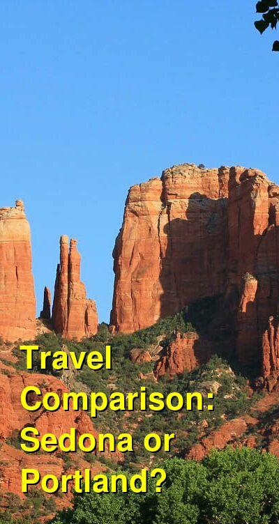 Sedona vs. Portland Travel Comparison