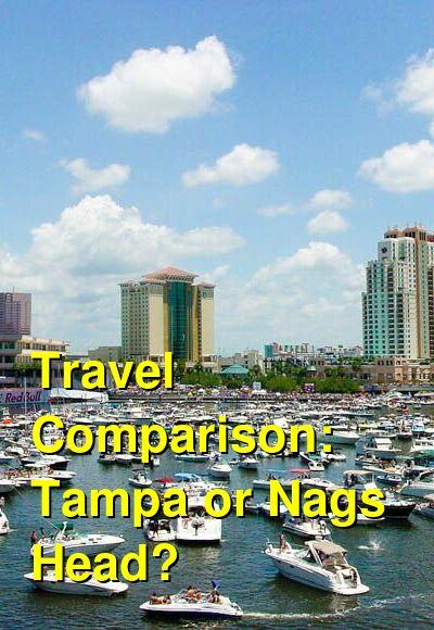 Tampa vs. Nags Head Travel Comparison