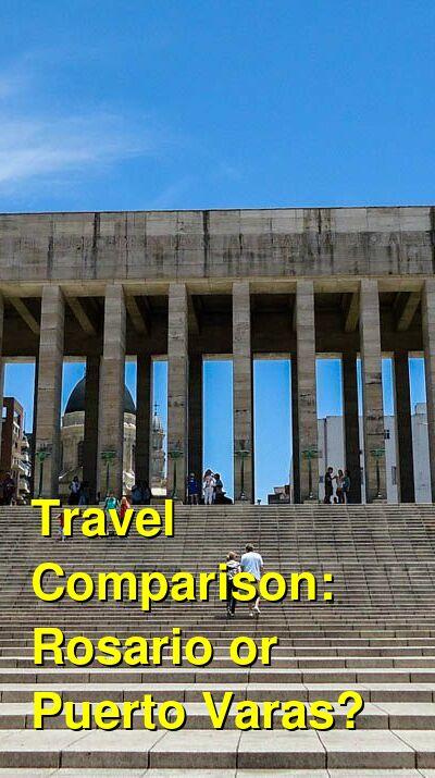 Rosario vs. Puerto Varas Travel Comparison