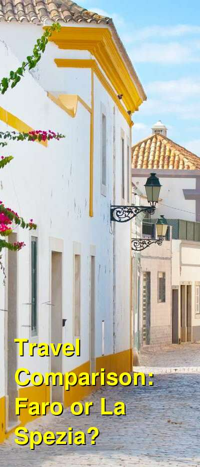 Faro vs. La Spezia Travel Comparison