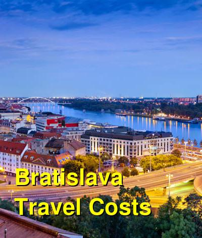 Bratislava Travel Cost - Average Price of a Vacation to Bratislava: Food & Meal Budget, Daily & Weekly Expenses | BudgetYourTrip.com