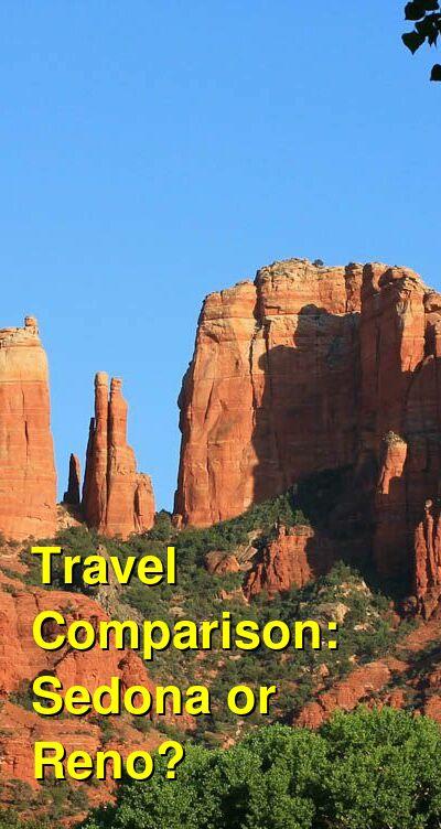Sedona vs. Reno Travel Comparison