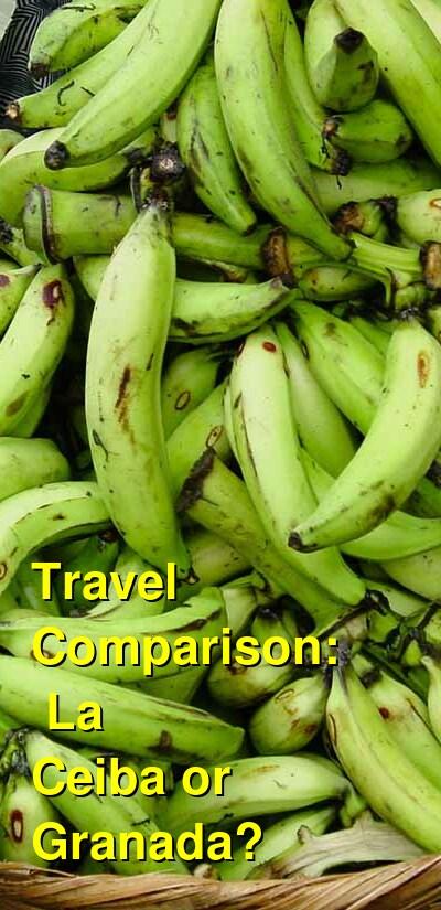 La Ceiba vs. Granada Travel Comparison