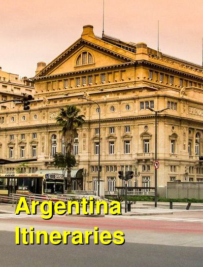Argentina Suggested Itineraries | BudgetYourTrip.com