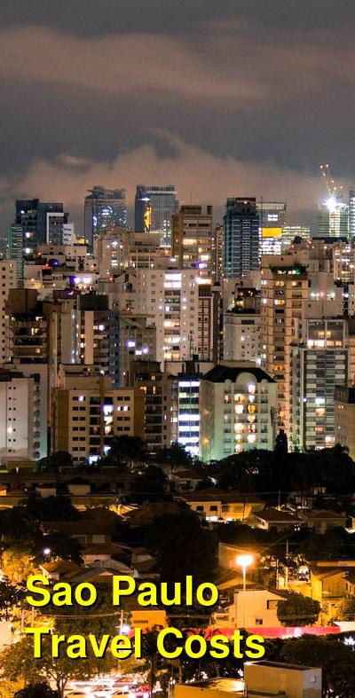 Sao Paulo Travel Cost - Average Price of a Vacation to Sao Paulo: Food & Meal Budget, Daily & Weekly Expenses | BudgetYourTrip.com