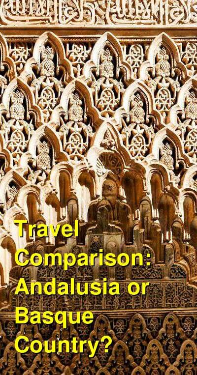 Andalusia vs. Basque Country Travel Comparison